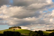 Free Typical Tuscany Countryside Royalty Free Stock Photography - 28190627