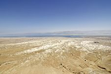 Free Dead Sea Landscape. Stock Photo - 28193550
