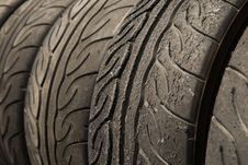 Free Tire Stack Royalty Free Stock Image - 28195586