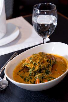 Free Thai Food Stir Fried Crab Stew Stock Images - 28195734