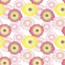 Free Flower Pattern Royalty Free Stock Photo - 28197555