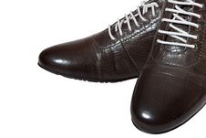 Free Men S Brown Shoes Royalty Free Stock Image - 28198806