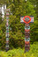 Free Totem Poles In Vancouver Royalty Free Stock Photos - 28192308