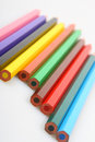 Free Color Pencils In A Row Royalty Free Stock Image - 2820996