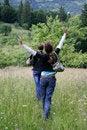 Free Two Happy Girls Stock Photos - 2821303