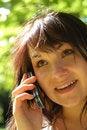 Free Phone Woman 14 Stock Image - 2826241