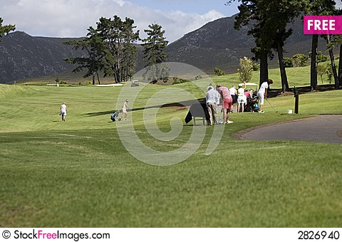 Free Golf Course Stock Photo - 2826940