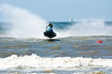 Free Extreme  Jet-ski Watersports Stock Photography - 2820582