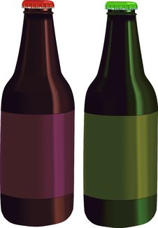Free Bottles - Vector Illustration Stock Photos - 2820613