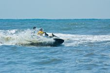 Free Extreme  Jet-ski Watersports Royalty Free Stock Images - 2820659
