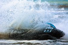 Free Extreme  Jet-ski Watersports Royalty Free Stock Photos - 2820748