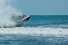 Free Extreme  Jet-ski Watersports Stock Photography - 2820922