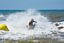 Free Extreme  Jet-ski Watersports Stock Photography - 2820962