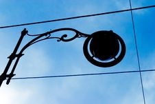 Free Street Lamp Silhouette Stock Photos - 2822523