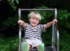 Free Young Boy Smiling Royalty Free Stock Photography - 2823997