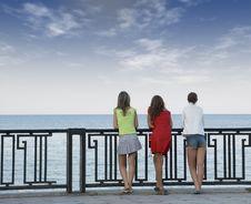 Free Three Girls Stock Photo - 2824010