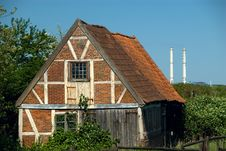 Free Old Brick Shed And Industry Stock Images - 2825224
