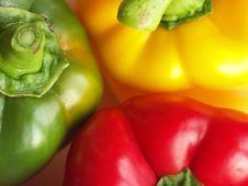 Free Three Pepper Royalty Free Stock Photo - 2825375