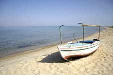 Boat, Red Sea, Sinai Stock Image