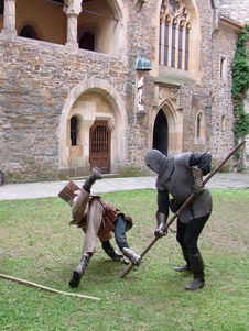 Free Medieval Fight Stock Photography - 2825732