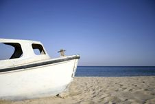 Boat, Red Sea, Sinai Royalty Free Stock Image