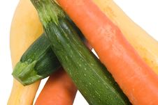 Carrots And Squash Stock Image