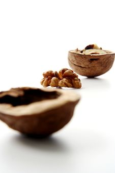 Nut Ingredient Royalty Free Stock Photography