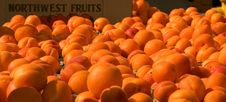 Free Apricots At Farmer S Market Royalty Free Stock Photos - 2827188