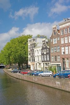 Typical View Of Amsterdam 8 Stock Photos