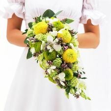 Free Bride And Bouquet-2 Stock Photos - 2827243