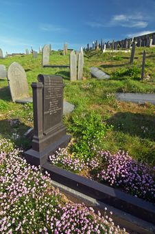 Free Aberdaron Cemetery Stock Photography - 2827512
