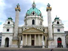 Free Karlskirche Stock Photo - 2827560