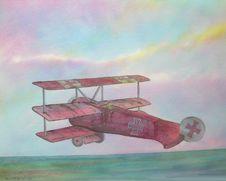 Free Red Baron Airplane Stock Photo - 2828140