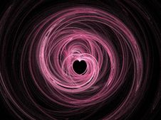 Free Abstract Fractal Heart Royalty Free Stock Photo - 2828145