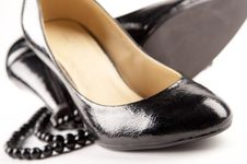 Free Black Patent-leather Shoes Royalty Free Stock Image - 2828236
