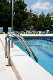 Free Pool Ladder Royalty Free Stock Photos - 2829368