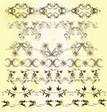 Free Collection Of Calligraphic Ornate Borders Royalty Free Stock Image - 28200106