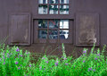 Free Wooden Garden Window Royalty Free Stock Photography - 28202337