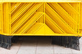 Free Yellow Pedestrian Barriers Stock Photo - 28209640