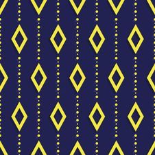 Free Seamless Pattern With Rhombuses Royalty Free Stock Image - 28201646
