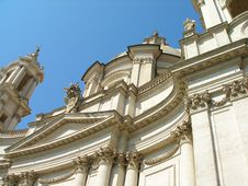 Free Church Of Sant Agnese In Agone Royalty Free Stock Photo - 28207995