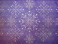 Free Vintage Snowflakes Violet Background Royalty Free Stock Image - 28211096