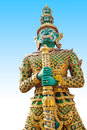 Free Giant Statue In The Temple, Generalily In Thailand, Any Kind Of Art Decorated In Buddhist Church. They Are Public Domain Or Treas Stock Photography - 28215472