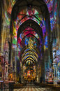 Free Cathedral Interior Royalty Free Stock Image - 28218496