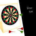 Free Dart Board With Darts Royalty Free Stock Photos - 28218868