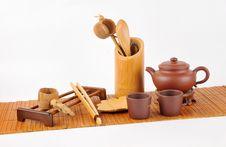 Free Tea Making Set Stock Images - 28210154