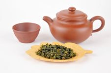 Free Tea Making Set Royalty Free Stock Photography - 28210197