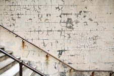 Old Stairwell Stock Photo
