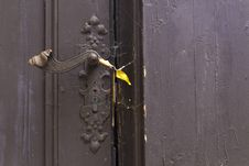 Old Latch Royalty Free Stock Photography