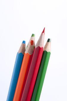 Free Colour Pencils Stock Images - 28216544